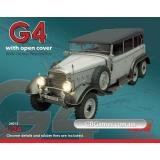 ICM24012  Typ G4 with open cover, WWII German personnel car