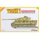 Немецкий танк Tiger I Early Production Pz.Kpfw. VI Ausf. E, Июль 1943 (DRA9142) Масштаб:  1:35