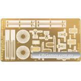 Педали и антенны Люфтваффе (GWH-LE48007) Масштаб:  1:48