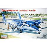 Пластиковая модель пассажирского самолета Ан-28 (EE14436) Масштаб:  1:144