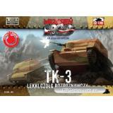 Разведывательная танкетка ТК-3 (FTF005) Масштаб:  1:72