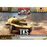 Разведывательная танкетка TKS с 20-мм орудием (FTF001) Масштаб:  1:72