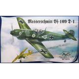 Самолет Мессершмитт Bf.109D-1 (Messerschmitt) (AV72010) Масштаб:  1:72