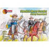 Swedish heavy cavalry (MS72036) Масштаб:  1:72