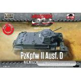 Танк PzKpfw II Ausf.D (FTF012) Масштаб:  1:72