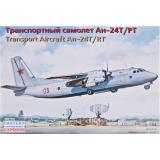 Транспортный самолет Ан-24Т/РТ (EE14468) Масштаб:  1:144