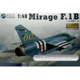 Учебно-боевой самолет Mirage F.1B (KH80112) Масштаб:  1:48