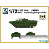 Боевая Машина Пехоты БМП-1 (SMOD-PS720041) Масштаб:  1:72