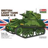 Британский лёгкий танк Mk VI (VUL-56008) Масштаб:  1:35