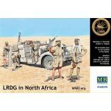 Фигурки LRDG в Северной Африке (MB3598) Масштаб:  1:35