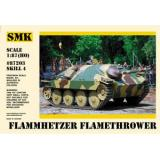 Фламмхетцер – немецкий огнеметный танк (SMK87203) Масштаб:  1:87