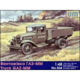 ГАЗ-ММ Советский грузовик (UM504) Масштаб:  1:48
