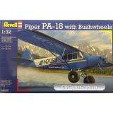 RV04890  Piper PA-18 with brushwheels