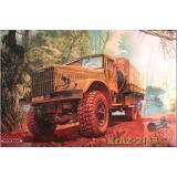 RN804  KrAZ-214B Soviet military truck