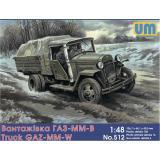 Грузовик ГАЗ-ММ-В (UM512) Масштаб:  1:48