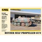 Хетцер – самоходная артиллерийская установка (SMK87202) Масштаб:  1:87