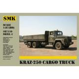 КрАЗ-250 бортовой автомобиль (SMK87110) Масштаб:  1:87