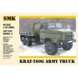 КрАЗ-260Г бортовой армейский автомобиль (SMK87103) Масштаб:  1:87