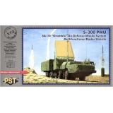 Многофункциональный радиолокатор подсвета и наведения 30Н6Е1 (PST72060) Масштаб:  1:72