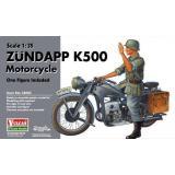 Мотоцикл Zündapp (Цундапп) K500 (VUL-56003) Масштаб:  1:35