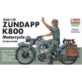 Мотоцикл Zündapp (Цундапп) K800 (VUL-56006) Масштаб:  1:35