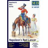 Наполеоновский красный улан (MB3209) Масштаб:  1:32