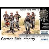 Немецкая элитная пехота, Восточный фронт (MB3583) Масштаб:  1:35