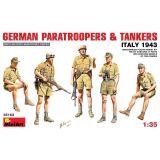 MA35163  German paratroopers & tankers, Italy 1943