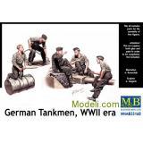 Немецкие танкисты (MB35160) Масштаб:  1:35