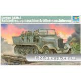 Немецкий артилерийский тягач Sd.Kfz.6 (TR05531) Масштаб:  1:35