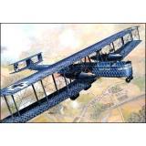 Немецкий бомбардировщик Zeppelin Staaken R.VI (Aviatik, 52/17) (RN050) Масштаб:  1:72