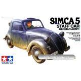 Немецкий трофейный автомобиль Simca 5 (TAM35321) Масштаб:  1:35