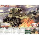 Огнеметный танк ОТ-133 (UMT220) Масштаб:  1:72