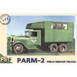 Пластиковая модель грузовика для ремонта в полевых условиях ПАРМ-2 (PST72024) Масштаб:  1:72