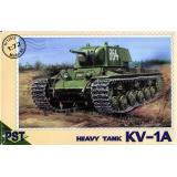Пластиковая модель советского танка КВ-1А (PST72013) Масштаб:  1:72