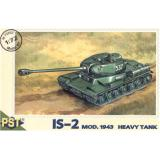 Пластиковая модель советского тяжелого танка ИС-2 (PST72002) Масштаб:  1:72