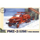 PMZ-2(US 6) fire-engine (PST72049) Масштаб:  1:72