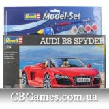 Подарочный набор с автомобилем Audi R8 Spyder (RV67094) Масштаб:  1:24