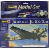 RV64843  Model Set Самолет Junkers Ju52/3m;1:144