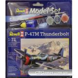 RV63984  Model Set Истребитель-бомбардировщик P-47 M Thunderbolt