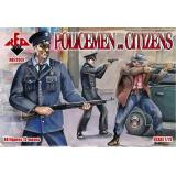 Policemen and citizens (RB72037) Масштаб:  1:72