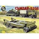 Прицеп-тяжеловоз ChMZAP-5208 (MW7260) Масштаб:  1:72
