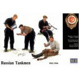 Русские танкисты, 1943-1944г. (MB3535) Масштаб:  1:35