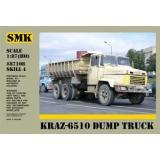 Самосвал КрАЗ-6510 (SMK87108) Масштаб:  1:87