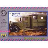 Санитарный автомобиль ЗИС-44 (PST72074) Масштаб:  1:72