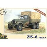Сборная модель грузовика ЗиС-6 (PST72019) Масштаб:  1:72