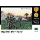Серия Вьетнамская война: Head of the Huey (MB35107) Масштаб:  1:35