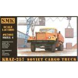 SMK87003 KrAZ-257 Soviet cargo truck (SMK87003) Масштаб:  1:87