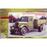 Советский грузовик ЗИС-5 (ZEB-Z72102) Масштаб:  1:72
