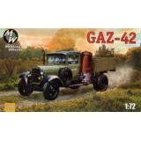 Советский грузовой автомобиль ГАЗ-42 (MW7241) Масштаб:  1:72